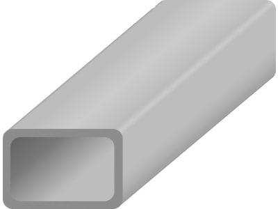 Vierkantrohr, Stärke 2 mm