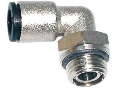 """Winkel-Steck-Einschraubverbinder """"W-ES SV"""", lösbar, 360° drehbar, für Polyamidrohr"""