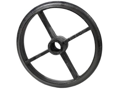 Industriehof® Cambridgering 510 mm, Welle rund, 60 mm, Breite Nabe 100 mm, Grauguss (GG20), 314-504
