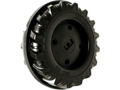 Rolly Toys® Hinterrad 308 x 98 x 12M,  mit Laufreifen, für Hinterachse mit Krallenmitnehmer, bis Bj. 07.05, 670 003 000 80