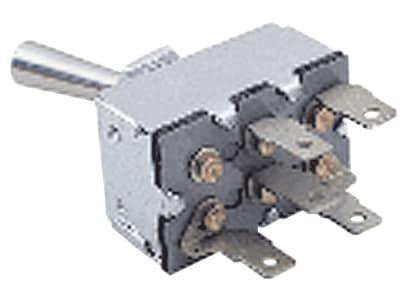 Schalter 5 x Flachsteckanschluss für Magnetkupplungen: Bobcat, Cub Cadet, Gravely, John Deere, Simplicity, Snapper, Toro, Wheel Horse
