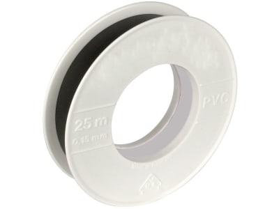 Herth + Buss Isolierband 25 m 19 x 0,15 mm, schwarz, PVC (Polyvinylchlorid), 50 272 180