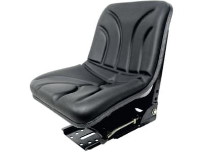 "Traktorsitz ""Compact Seat"", mechanisch gefedert, hinter Rückenpolster, PVC-Kunstleder, schwarz"