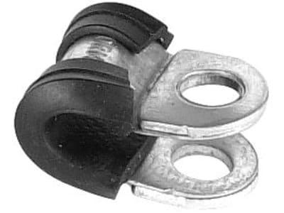 """Rohrschelle """"RSGU 1"""", verzinkt, DIN 3016, Breite 15 mm, Bohrung 6,4 mm"""