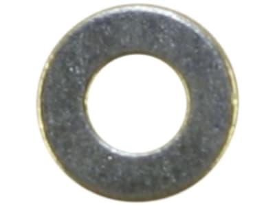 Unterlegscheibe DIN 125 17 x 30 x 3 mm, Stahl, verzinkt; blau passiviert (A2K), 04079916