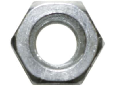 Sechskantmutter DIN 934 M 16, SW 24, Höhe 13 mm, Güte 8, Stahl, verzinkt; blau passiviert (A2K), 031716