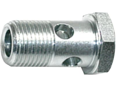 """Hohlschraube """"HSR"""" zöllig, BSPP, zylindrisch, Hochdruck, Stahl, verzinkt"""