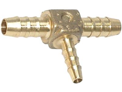 """T-Verbinder """"T-PO-RV-MS"""", reduziert, Messing, 6 mm; 4 mm; 6 mm, für Polyamidrohr"""