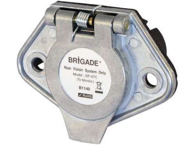 Brigade® Winterdienst-Trennstelle BE-Serie, traktorseitig, 7-polig