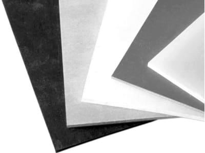 Gummiplatte 10.000 x 1.400 x 4 mm, SBR, einseitig glatt; einseitig stoffgemustert