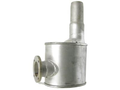 Schalldämpfer, Auslass 57/60 mm, Länge 370 mm, für Case IH JX, Fiat L, Ford New Holland TL