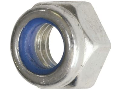Industriehof® Sechskantmutter M 16 x 1,5 - 8.8, selbstsichernd, Polystop, 51-1016