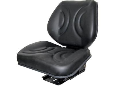 """Traktorsitz """"Vario Star Plus"""" mit Lendenwirbelstütze, mechanisch gefedert, Öldämpfer hinter Rückenlehne, PVC/Stoff"""