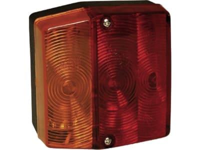 """Aspöck® Schlussleuchte """"Minipoint"""", links/rechts, 99 x 93 x 49 mm, Schluss-, Brems-,  Blink- und Kennzeichenlicht, E4 10333"""