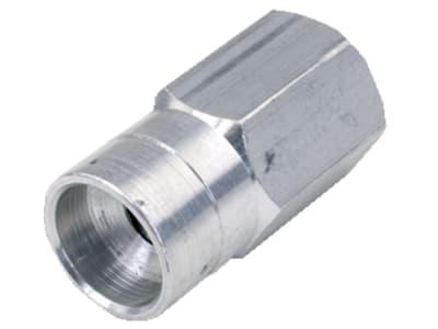 6-Kant-Adapterbolzen, M 8 x 1,25 IG rechts ausgedreht, Schlüsselweite 16