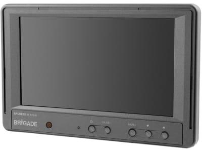 "Brigade® Monitor ""BE-870LM"" 7,0 "", farbig (RGB) 480 x 234 Pixel, 2705B"