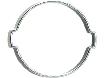 2-Ohr-Schlauchklemme, Stahl (W1)