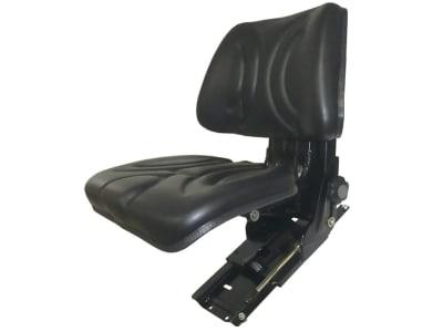 "Traktorsitz ""VS 500 HV Eco"", mechanisch gefedert, hinter Rückenpolster, PVC-Kunstleder, schwarz"