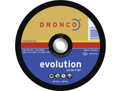 """Dronco® Metall-Trennscheibe """"AS 36 V Evolution"""" gerade"""