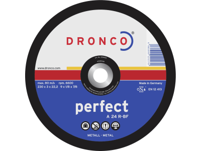 """Dronco® Metall-Trennscheibe """"A 24 R Perfect"""""""