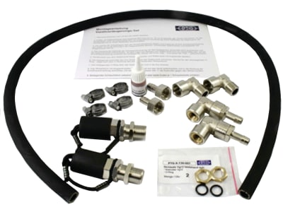 PTG Ventilverlängerungsset AS für Airbooster, Airbox und alle Airbox-Produkte und den Airbooster mit innenliegenden Reifenventilen, PTG-X-650-005