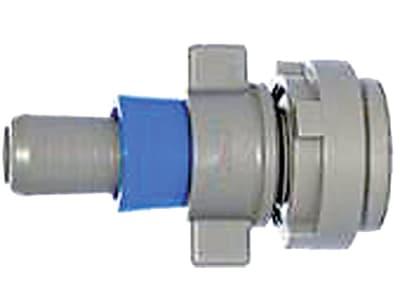 NETAFIM™ Startverbinder FlexNet™ Flachschlauch Tropfrohr dünnwandig mit Ring  (Beutel á )