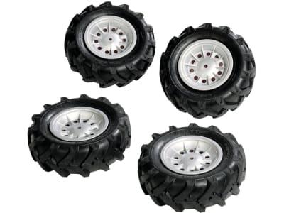 Rolly Toys® Luftbereifung, 4 St. Räder 310 x 95 für Trettraktoren rollyFarmtrac, 40 918 1
