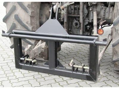 Düvelsdorf Dreipunktadapter Euro-Schnellwechselsystem an Dreipunktanbau Kat. 2