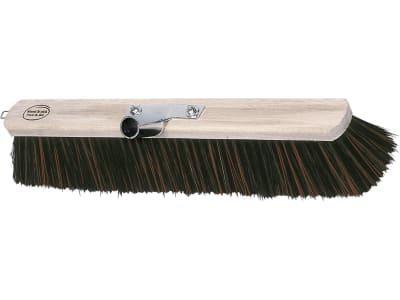 Kerbl Großraumbesen Arenga/Elaston, Rücken Holz, geschraubter Stielhalter Metall