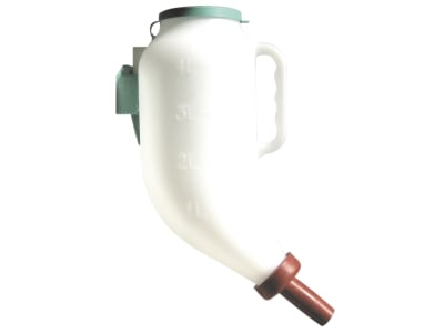 Kerbl Trockenfutterflasche für Kälber 4 l, 1428