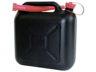 Kraftstoffkanister Kunststoff, mit Auslaufrohr