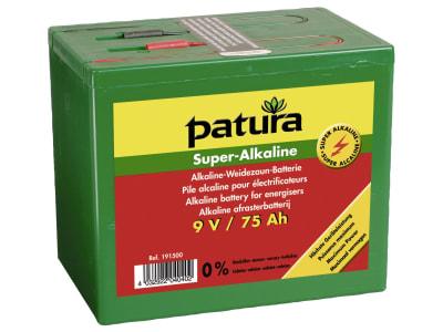 """Patura Weidezaunbatterie """"Super Alkaline"""" 9 V Alkali/Mangan (Alkaline)"""