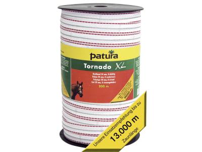 "Patura Breitband ""Tornado XL"" weiß; rot 20 mm"