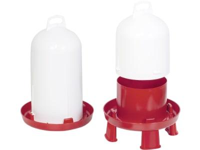 Stükerjürgen Geflügeltränke Kunststoff mit Doppelzylinder