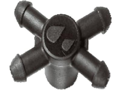 NETAFIM™ 4-fach Adapter für Tropfer Passend für Spechttropfer oder Nippelauslass