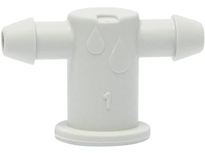 NETAFIM™ 2-fach Adapter für Tropfer Passend für Spechttropfer oder Nippelauslass (Beutel à 100 Stück)