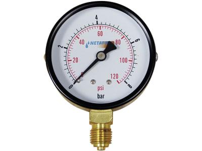 NETAFIM™ Druckmanometer 0 bis 8 bar