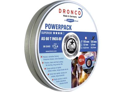 "Dronco® Metall-Trennscheibenset ""AS 60 Inox"" gerade, 10 St."