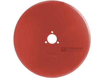 Frank Sechscheibe 452 x 5 mm, LK 80 mm, ZB 55,5 mm, gerade, glatt, für Kverneland