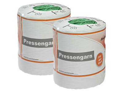 InnoPlast® greenfiber Pressengarn 2 Rollen à 10 kg hoch UV-stabilisiert grün 2.120 m 2 Spulen à 10 kg