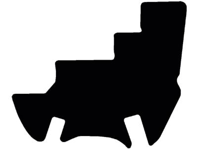 Fußmatte gekettelt, aus Velours, schwarz, für JCB Radlader 400, ab Bj. 14