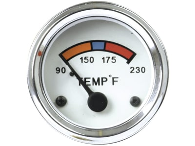 Temperaturanzeige Kühlwasser beleuchtet Einbaumaß Ø 52 mm für Ford New Holland
