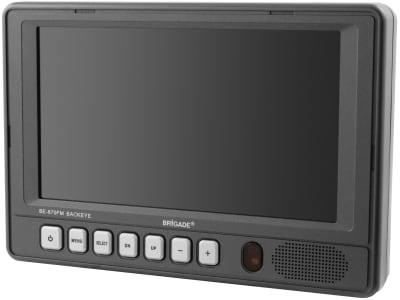 "Brigade® Monitor ""BE 870FM"" 7,0 "", farbig (RGB) 480 x 234 Pixel, 2146B"
