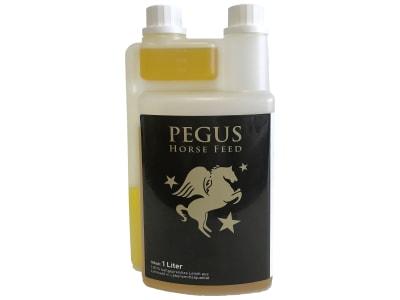 Pegus Leinöl kaltgepresst, zur Unterstützung des Stoffwechsels, als zusätzliche Energiezufuhr und für Fellglanz 1 l Flasche