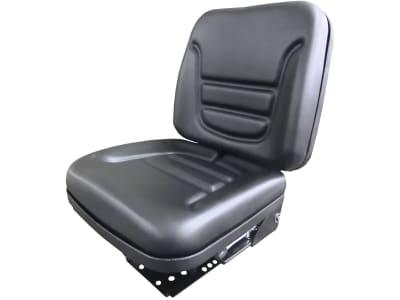 """Traktorsitz """"S 530 Plus"""", mechanisch gefedert mit 2 Zugfedern und Öldämpfer, PVC-Kunstleder, schwarz"""