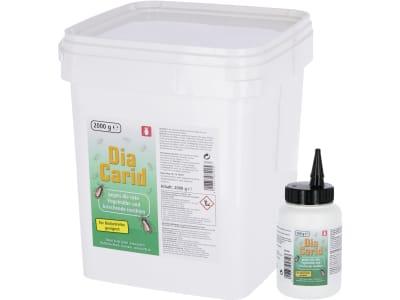 DiaCarid Milbenpulver für die Bekämpfung der roten Vogelmilbe und anderer kriechender Insekten