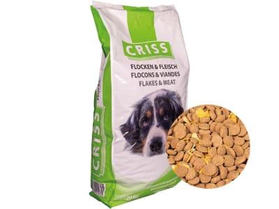 CRISS Hundemenü Flocken und Fleisch  Flocken 20 kg Sack