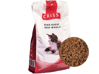 CRISS Katzenmenü Rind  Pellet 5 kg Sack
