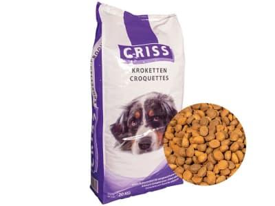 CRISS Hundemenü Kroketten  Pellet 20 kg Sack