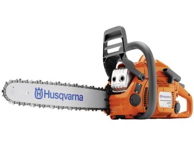 "Husqvarna® Benzin-Kettensäge ""435 Mark II"" 1,6 kW (2,2 PS) Schnittlänge 38 cm, 9676758-35 !!betriebsbereit!!"